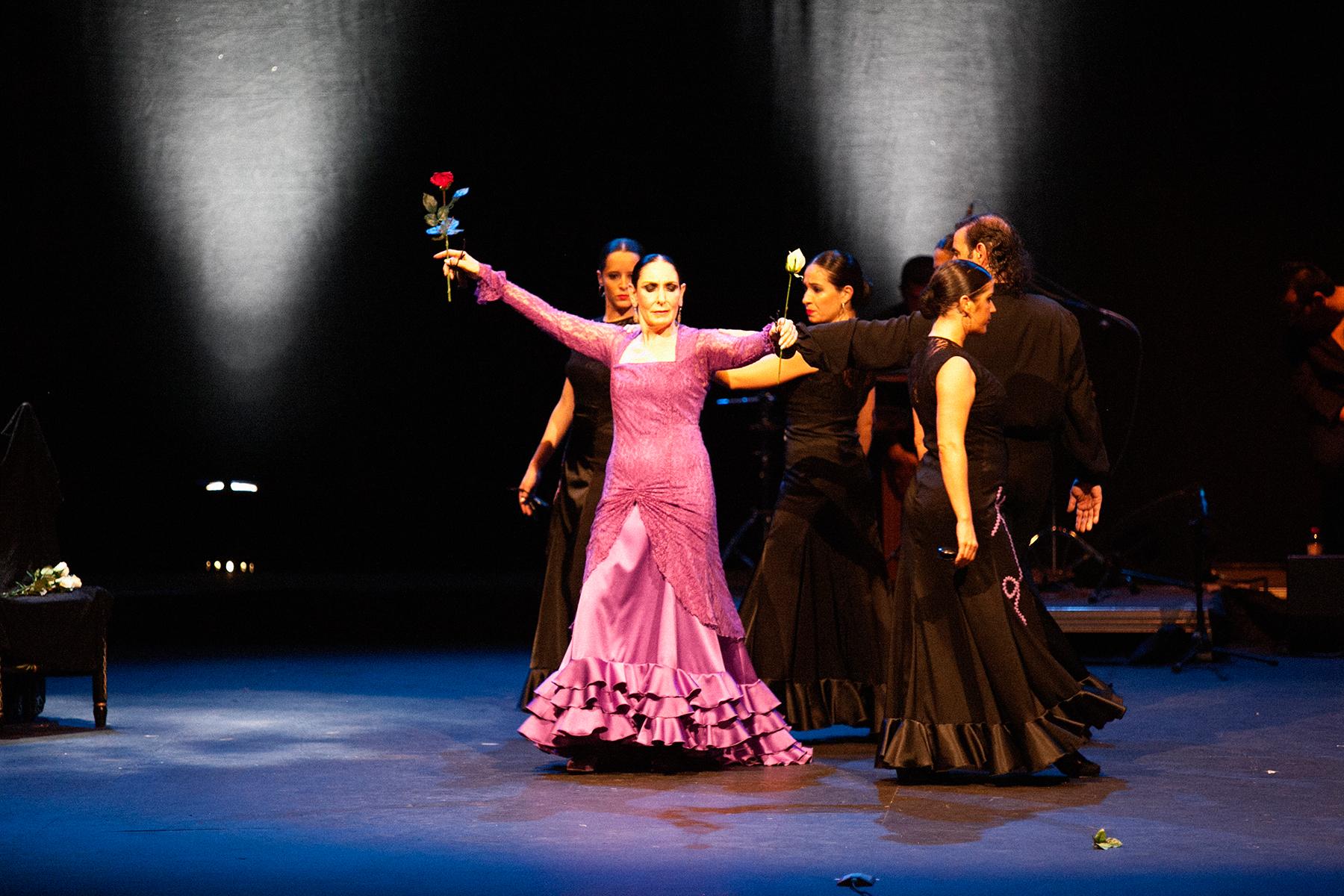 """Julia Grecos. Pasos finales de """"Flamenco de Cristal"""""""