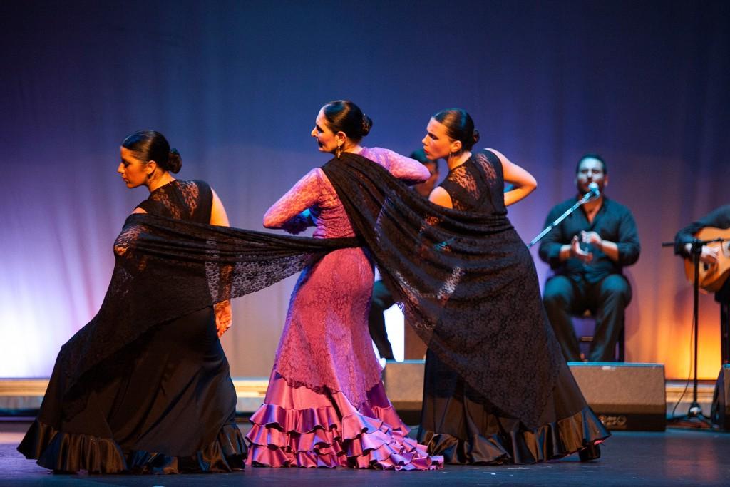 """Julia Grecos. La Mantilla Negra de """"Flamenco de Cristal"""""""