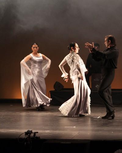 """Julia Grecos. Los Velos de """"Flamenco en el Rialto"""""""