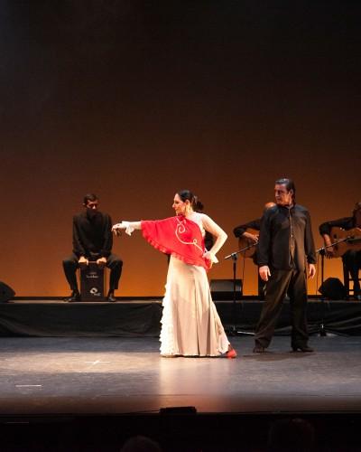 """Julia Grecos. Las Pinceladas Rojas de """"Flamenco en el Rialto"""""""