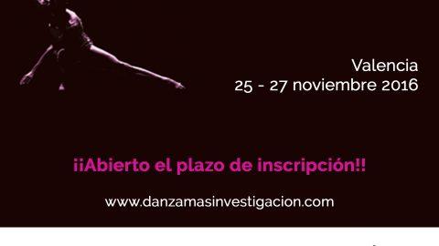 IV Congreso Nacional y I Internacional: La Investigación en Danza